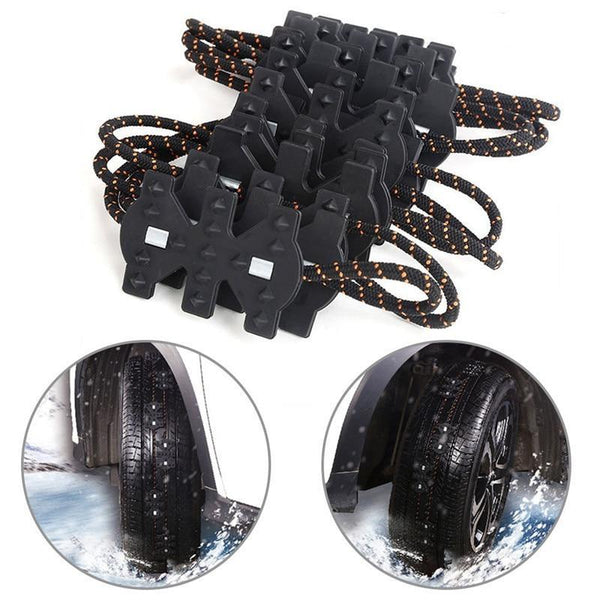 2PCS Non-Slip Tire Chain