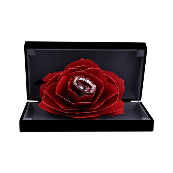 Soufeel Red Rose Ring Box - Smart-Novelty.com
