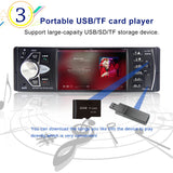 Car FM MP3 MP4 MP5 SD TF Player with Bluetooth Rear view Camera and USB charger - Smart-Novelty.com
