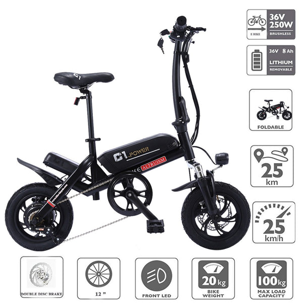 ALTRUISM C1 Smart Folding E-Bike - Smart-Novelty.com
