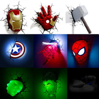 Avengers Wall 3D LED Lamp - Smart-Novelty.com