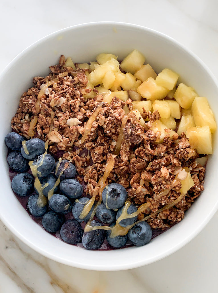 Good Eats: Pineapple Açai Bowl