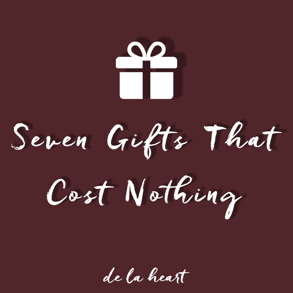 Gifts That Cost Little to Nothing