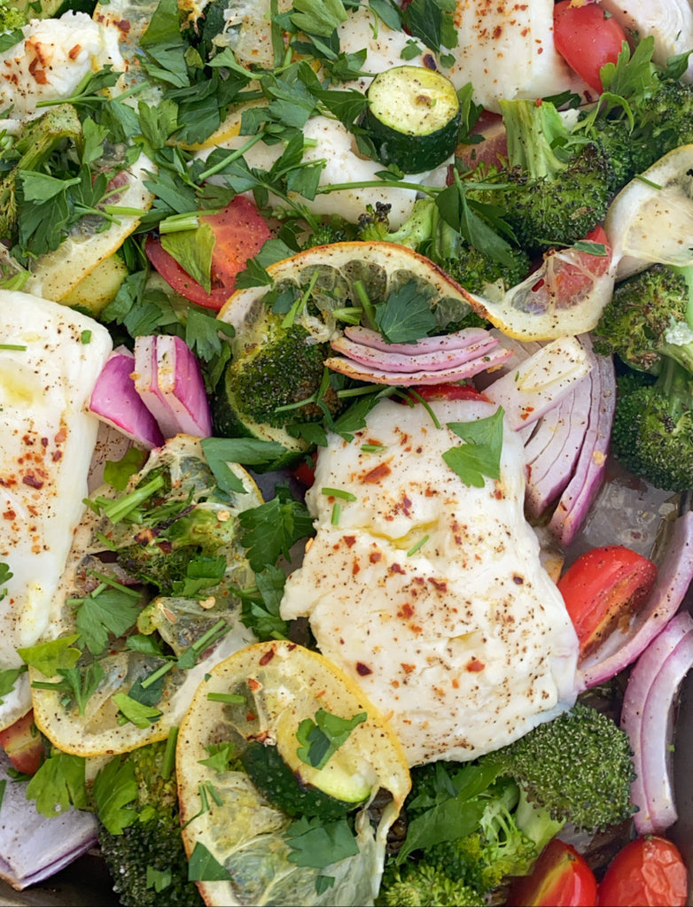 Baked Feta With Veggies