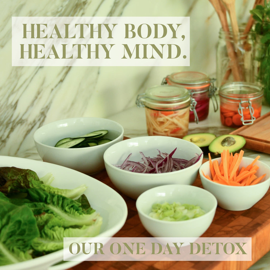 Healthy Body, Healthy Mind - Our One Day Detox