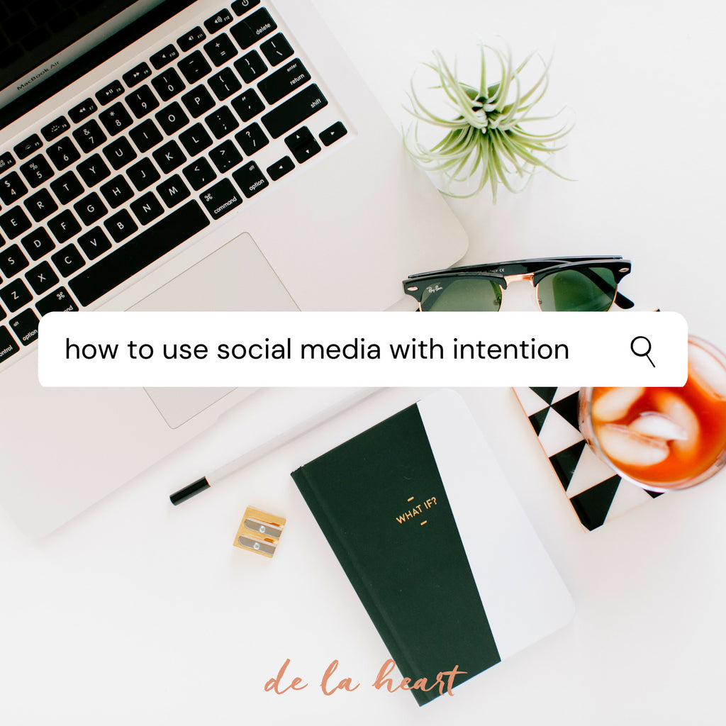 5 Ways to Use Social Media with Intention
