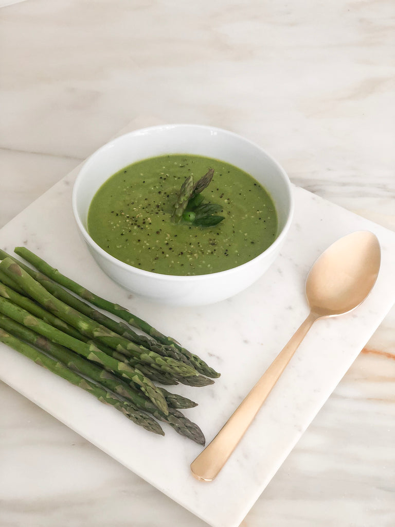 Healthy Eats: Asparagus Soup