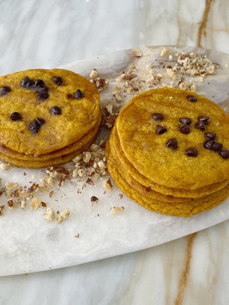 Fall Harvest Pumpkin Pancakes