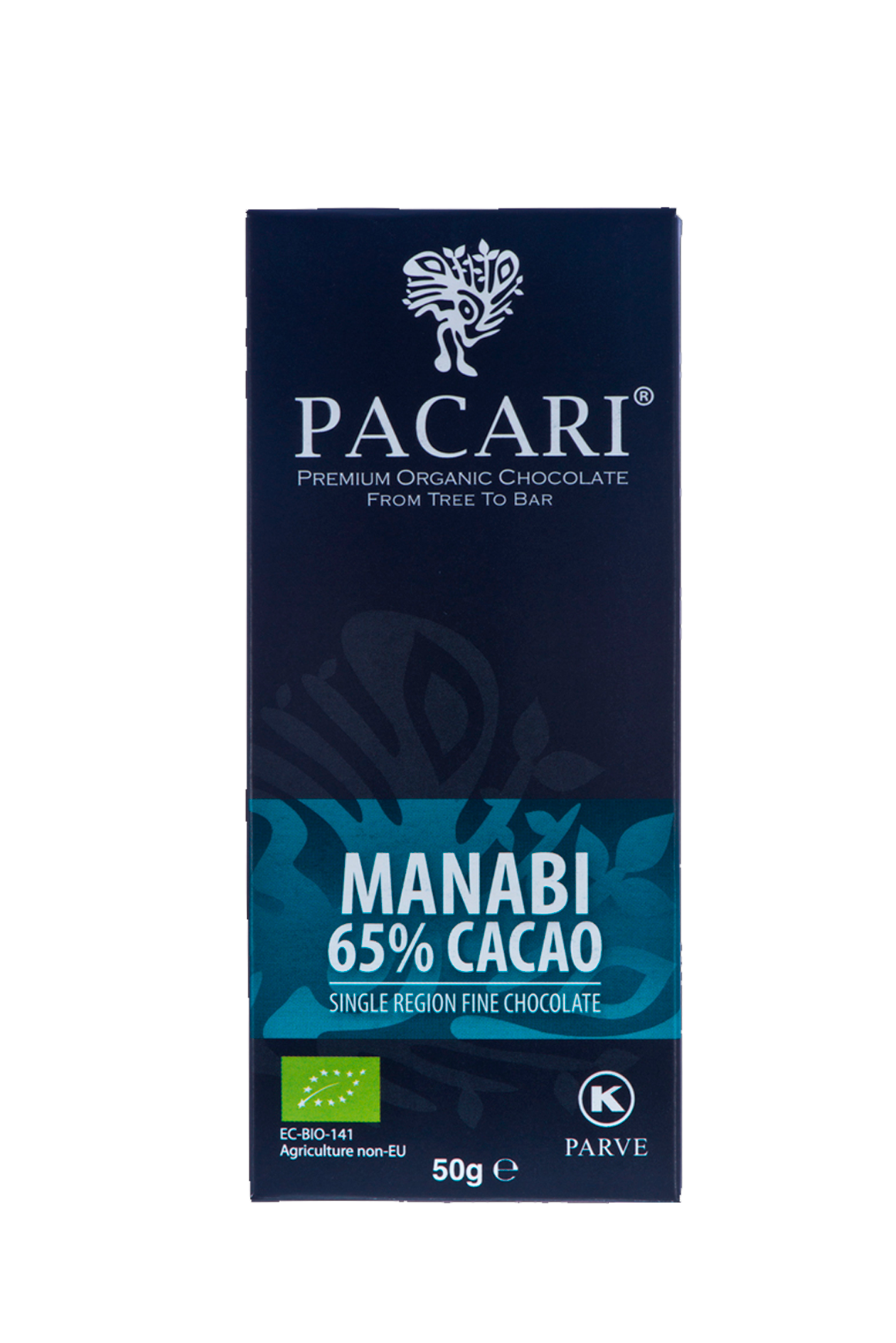 Manabí 65% Organic Chocolate Bar