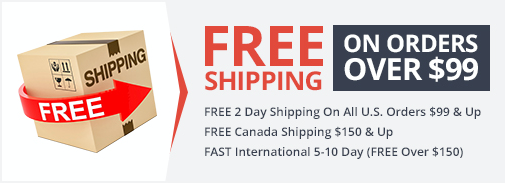 Free Shipping Over 99 Dollars