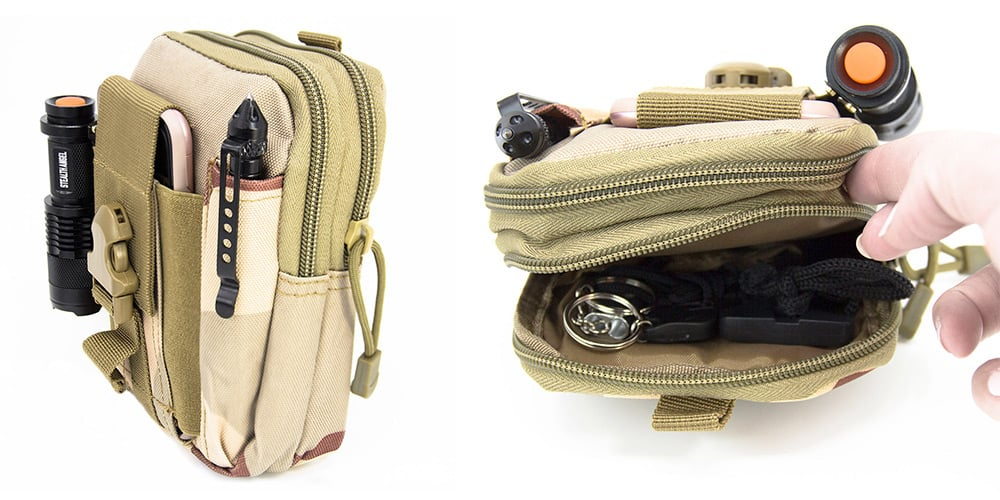 Stealth Angel 8-in-1 EDC Survival Molle Pouch Kit