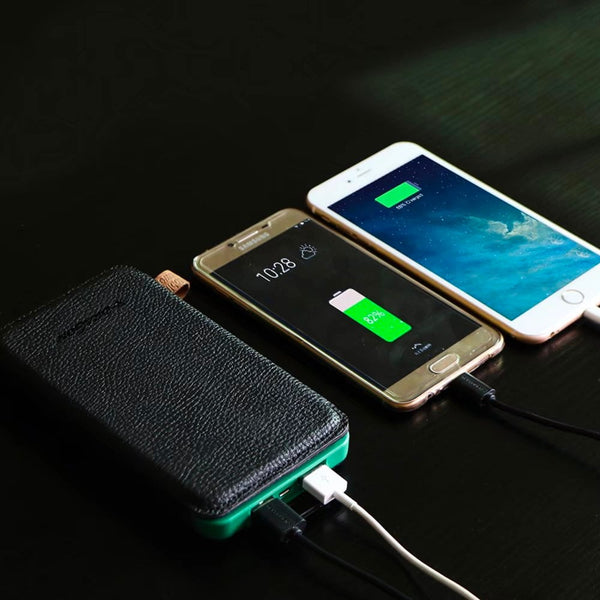Portable 10 000mah 4 Fold Solar Dual Usb Charger And Led