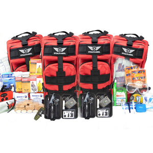 Stealth Angel 10  Person Emergency Kit / Survival Bag (72 Hours)