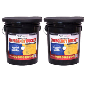 Stealth Angel 10 Person Emergency Bucket (72 Hours)