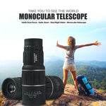 Stealth Angel 16x52 Dual Focus Monocular Telescope / Spotting Scope