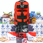 Stealth Angel 2 Person 72 Hour Survival Backpack for Earthquakes, Hurricanes, and Other Natural Disasters