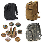 Military Style Outdoor 30L Waterproof Rucksack/Backpack