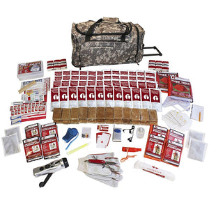 4 Person Elite 72-Hour Emergency Preparedness Survival Kit - Camo Bag