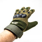 Stealth Angel SA-TG1 Hard Knuckle Tactical Gloves (Full Finger) Military Style