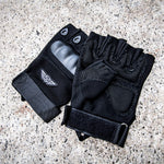 Stealth Angel SA-TG2 Hard Knuckle Tactical Gloves (Half Finger) Military Style