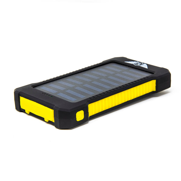 save off 21db2 c8f54 Stealth Angel 10,000mAH Waterproof / Shockproof Solar Dual-USB Charger and  LED Light
