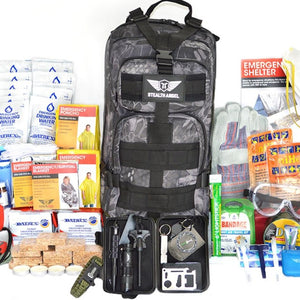 2 Person Emergency Kit / 72 Hour Backpack By Stealth Angel Survival