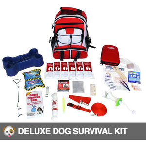 Deluxe Dog Survival Emergency Preparedness Kit