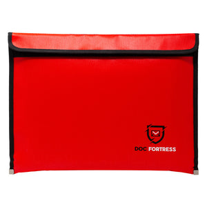 DocFortress Fireproof & Water Resistant Document/Money Safe Storage Bag