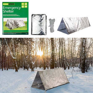 Emergency Thermal Reflective Tube Tent Shelter