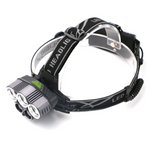 Stealth Angel SA-TRI5 High Power 6-Mode LED Waterproof Headlamp Kit