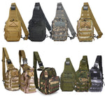 Stealth Angel Shoulder Sling Backpack Military Style Outdoor Compact