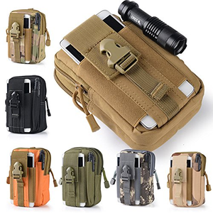 Military Style Outdoor EDC Waist/Belt/Molle Bag