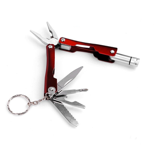 Small Foldable Stainless Steel 7-in-1 Multitool Plier (FREE)