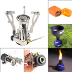 Stealth Angel Ultralight Portable Outdoor Pot Pan & Stove Set with Piezo Ignition
