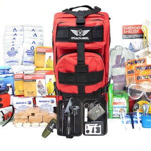 Stealth Angel 2 Person Emergency Kit / Survival Bag (72 Hours)
