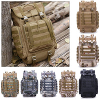 Stealth Angel Knox40™ - Military Style Outdoor Large 40L Backpack with MOLLE Webbings