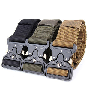 SA-TB1 Heavy Duty Tactical Utility Belt w/ Metal Buckle