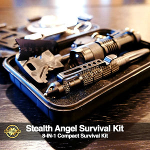 Stealth Angel 8-in-1 Survival Kit