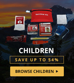 Emergency Preparedness Kits for children