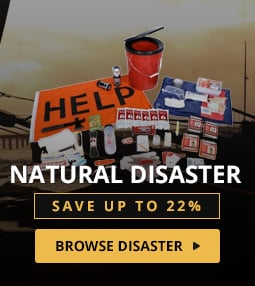 Emergency Preparedness Kits for natural disasters