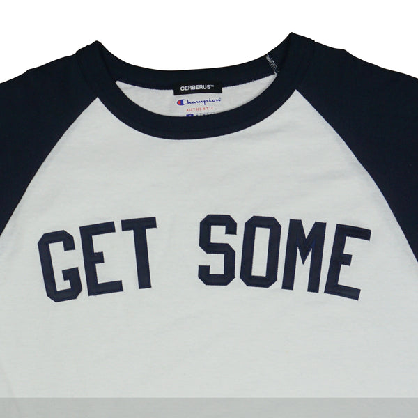 "CHAMPION® ""GET SOME"" 3/4 RAGLAN"