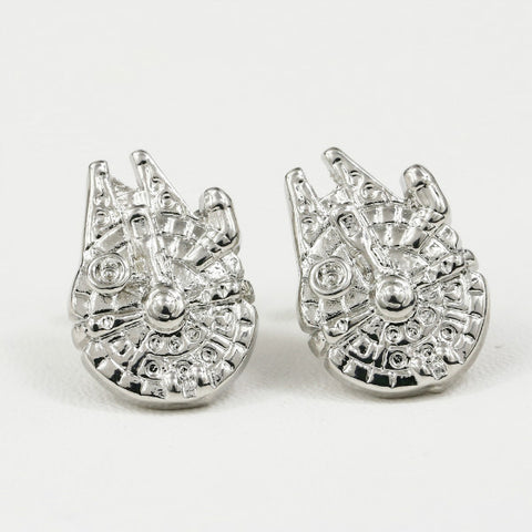 Millennium Falcon Cuff Links - Star Wars Han Solo Accessories