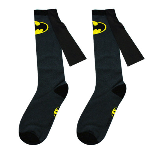 Batman Cape Socks - Perfect for Special Occasions and Athletic Events