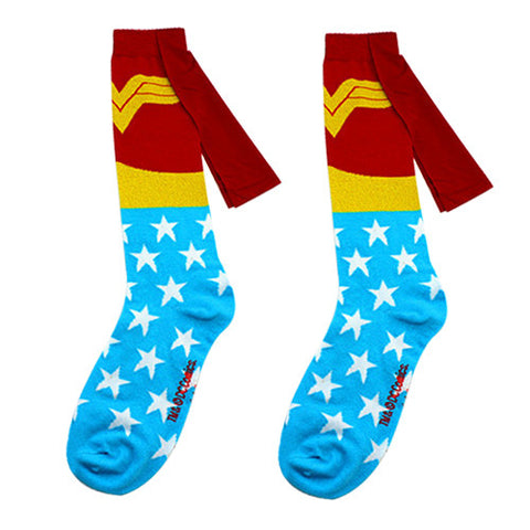 Wonder Woman Cape Dress Socks
