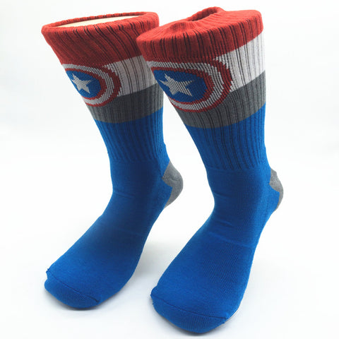 Captain America Shield Dress Socks