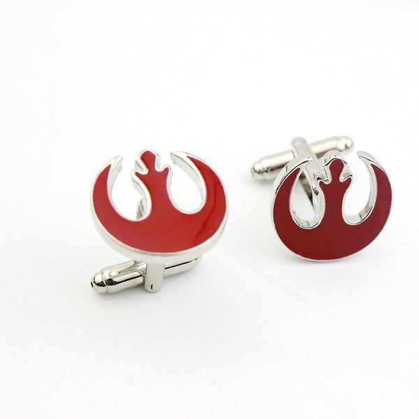 Star Wars Silver Cuff Links - Perfect Accents for the Big Day