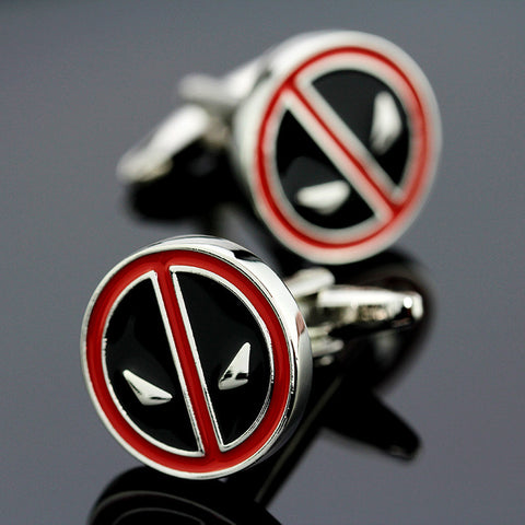 Deadpool Cuff Links