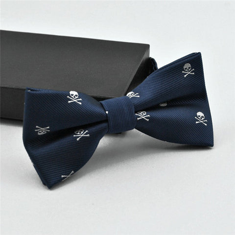 Skull & Crossbones Bow Tie (6 Color Choices!)