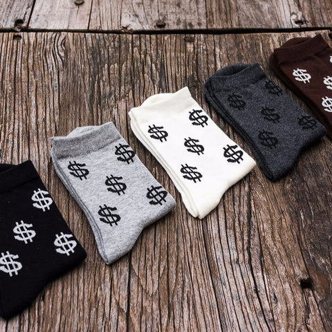 Baller Money Dress Socks (5 Color Choices)