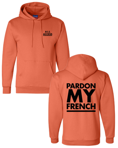 All Access Hoodie (Orange)